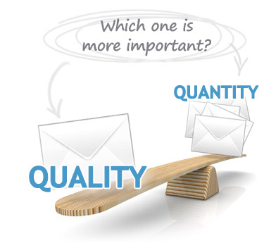 For suppliers, the quality of the inquiry should be more important than the quantity